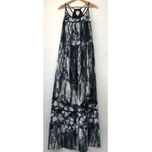 Suzi Chin For Maggy Boutique Maxi Tie-Dye Gray